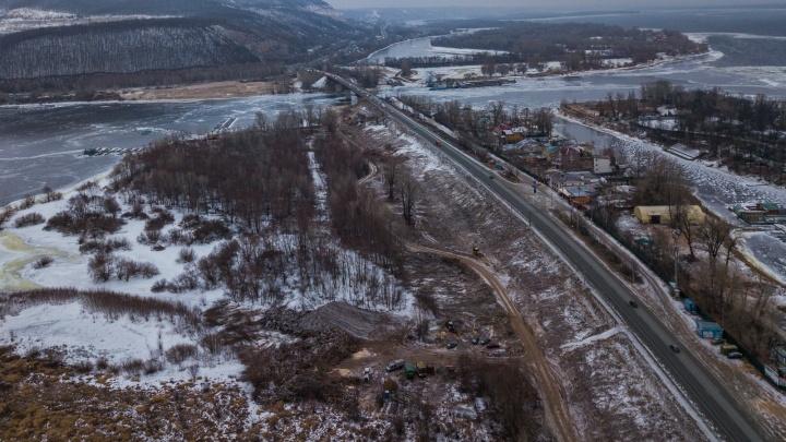 В Самаре началась подготовка к строительству нового моста через реку Сок