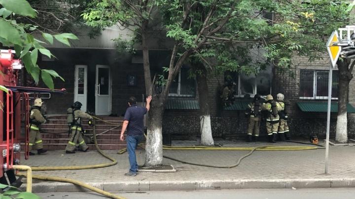 В Уфе загорелось общежитие колледжа: студенты пытались самостоятельно потушить огонь