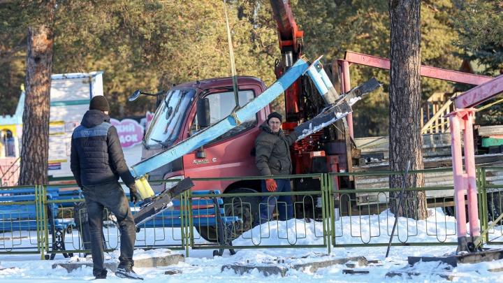Главный парк Челябинска решили оставить без аттракционов до следующего лета