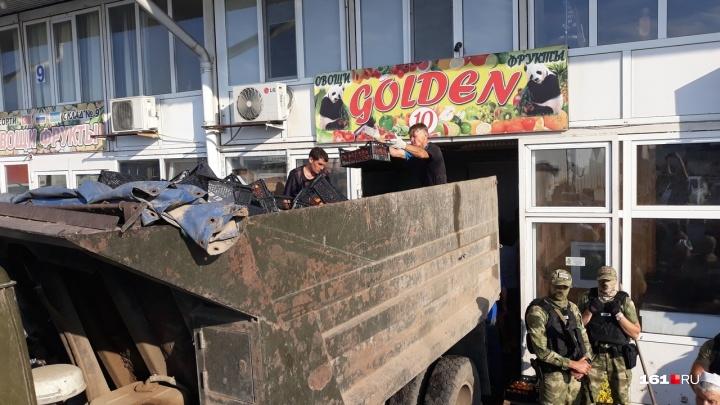 Абрикосы СОБРаны: на рынке вАксае транспортная прокуратура конфисковала крупную партию фруктов