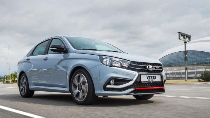 АвтоВАЗ опубликовал цены на самую дорогую серийную модель — ею стала Vesta Sport