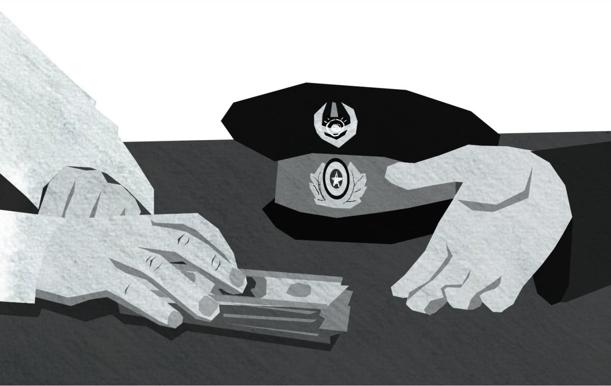 За возвращение машины казахстанские полицейские попросили две с половиной тысячи долларов