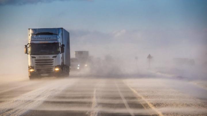На трассе опасно: новосибирцев попросили отложить дальние поездки