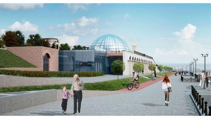 Архитекторы назвали условия, при которых будет построено новое здание речного вокзала