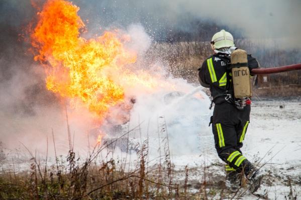 Для помощи в борьбе с лесными пожарами из Архангельской области в Мурманскую отправится 21 пожарный