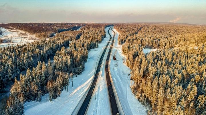 В Перми открыли проезд по четырем полосам Восточного обхода