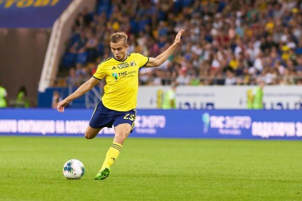 В этом сезоне Зуев стал автором мяча в ворота «Спартака»
