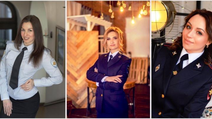 «Леди омская полиция» по версии NGS55: читатели выбрали трёх самых очаровательных сотрудниц УМВД
