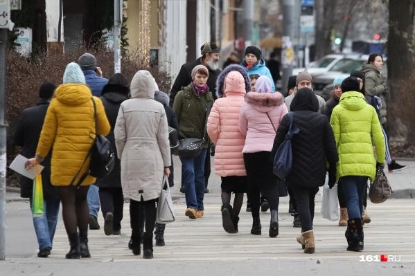 Численность населения Ростовской области сократилась на 0,4%