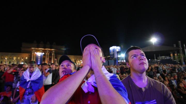 Болели до последнего: самарцы рыдали после проигрыша сборной России на ЧМ