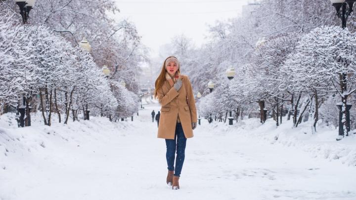 Мартовская зима: в Екатеринбурге выпала месячная норма осадков