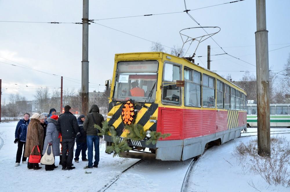 Похороны дзержинского трамвая