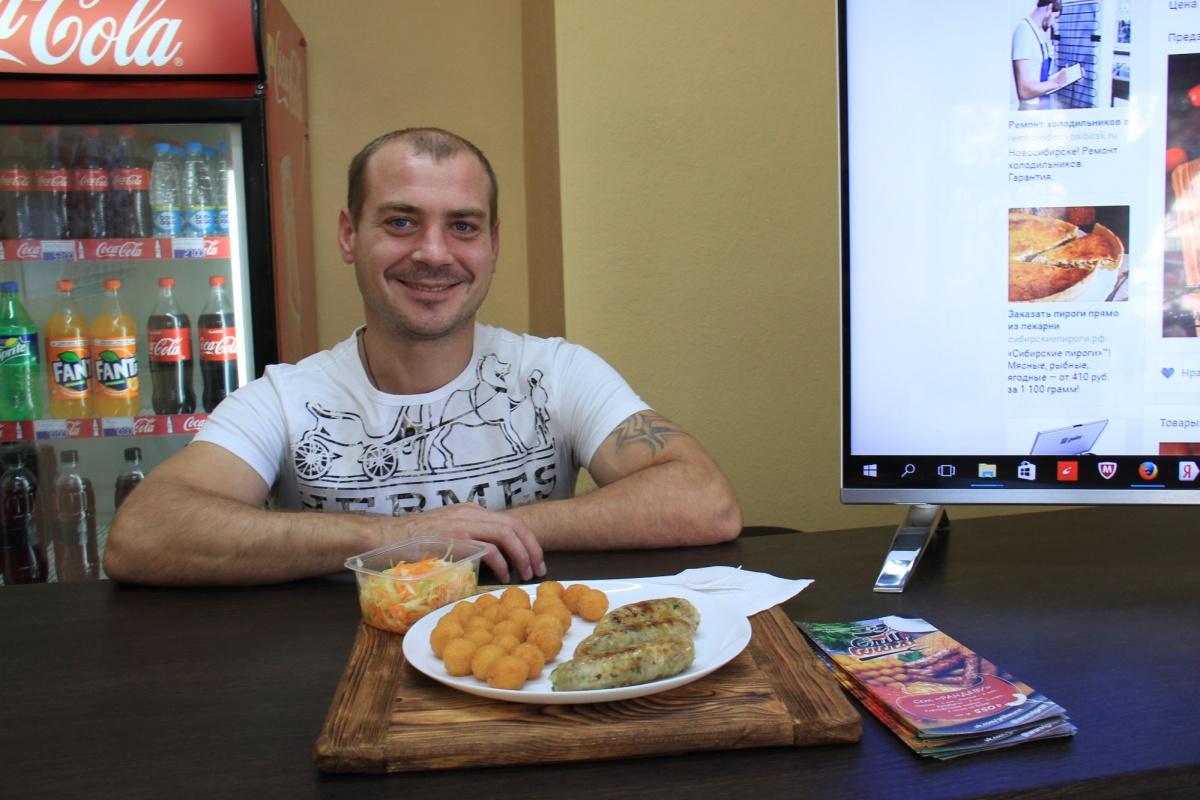 Создатель и владелец GrillWurst Руслан Назаров. Фото Стаса Соколова