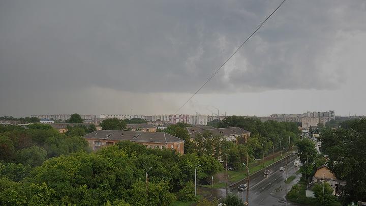 В Курганской области объявили штормовое предупреждение