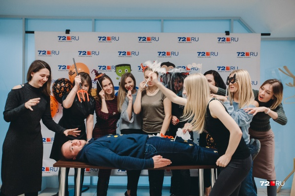 Команда 72.ru решила немного подурачиться во время обеда. Вот что получилось у нас, посмотрите