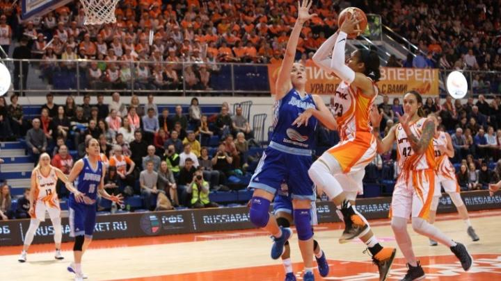 Баскетболистки УГМК разбили «Динамо» в финальной серии чемпионата России