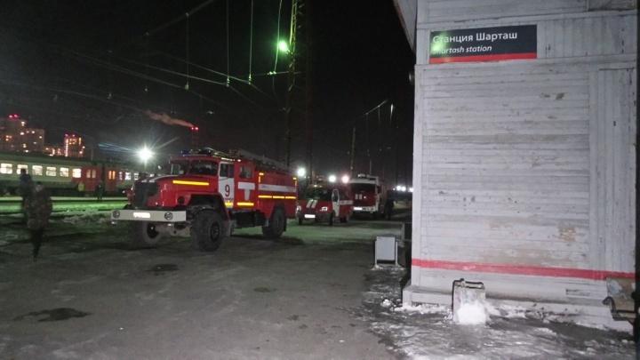 Утечку дизельного топлива из цистерны на станции Шарташ удалось остановить