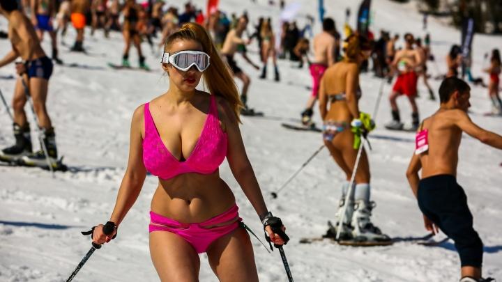 Горячая гора: 20 самых соблазнительных девушек с праздника в Шерегеше