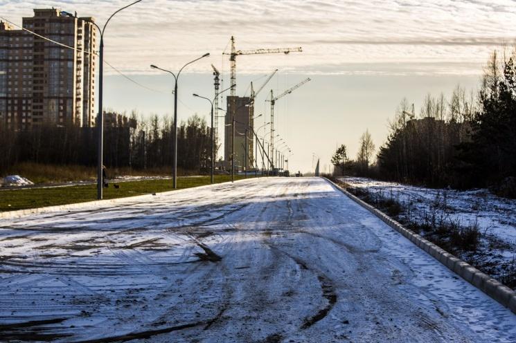 Километровая дорога станет продолжением главной улицы города