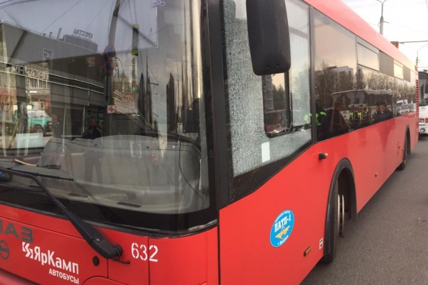 Автобусы в момент обстрела ещё были в рейсе