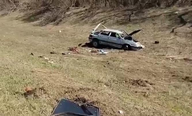 Подробности аварии на трассе в Башкирии: легковушка протаранила колонну байкеров