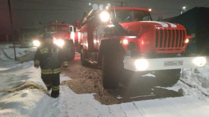 Житель Башкирии попал в реанимацию после пожара в шестиэтажке
