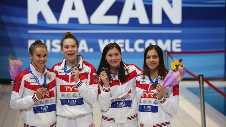16-летняя сибирячка взяла золото на первенстве Европы по плаванию