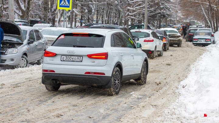 «Не хотим машины под окнами!»: самарцы забраковали строительство развязки на Московском — Мичурина