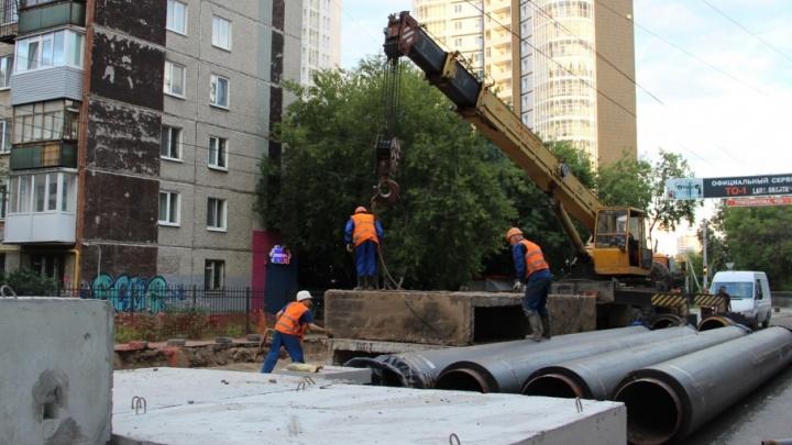 В Перми из-за ремонта теплосетей перекрыли движение по одной из центральных улиц. Публикуем карту