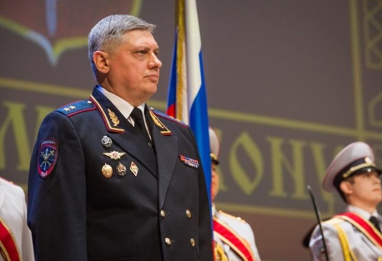Юрий Стерликов возглавляет новосибирскую полицию с 2015 года