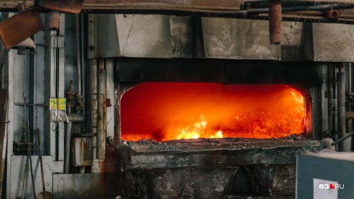 Даже пепла не осталось: в Самаре сотрудники ФСБ сожгли 97 кг наркотиков