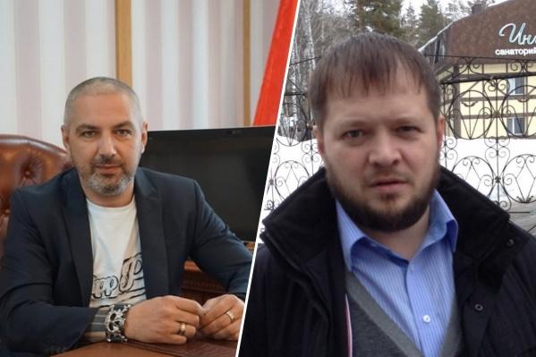 Олег Гузенко и Валерий Калалб