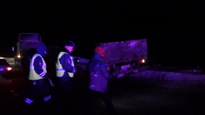 Водителя лесовоза, который устроил смертельную аварию под Нижним Тагилом, задержали полицейские