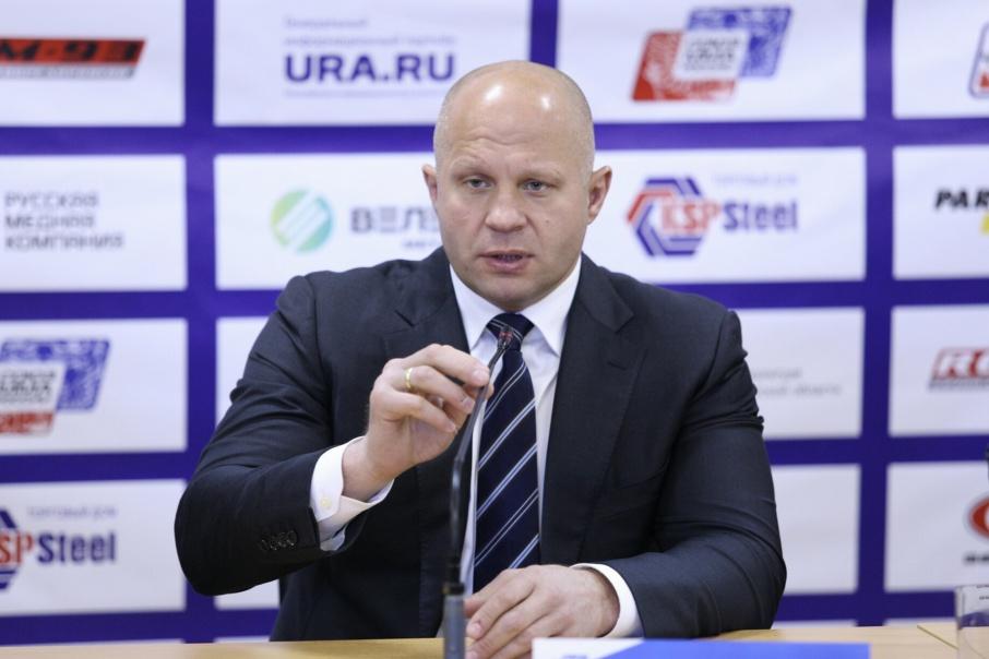 Фёдор Емельяненко отметил, что поддерживает введение допинг-контроля в ММА