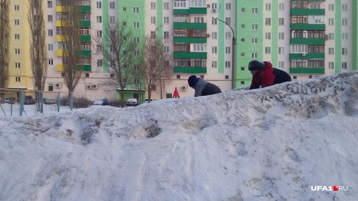 Жительница Башкирии сделала необычный подарок всем детям своего двора