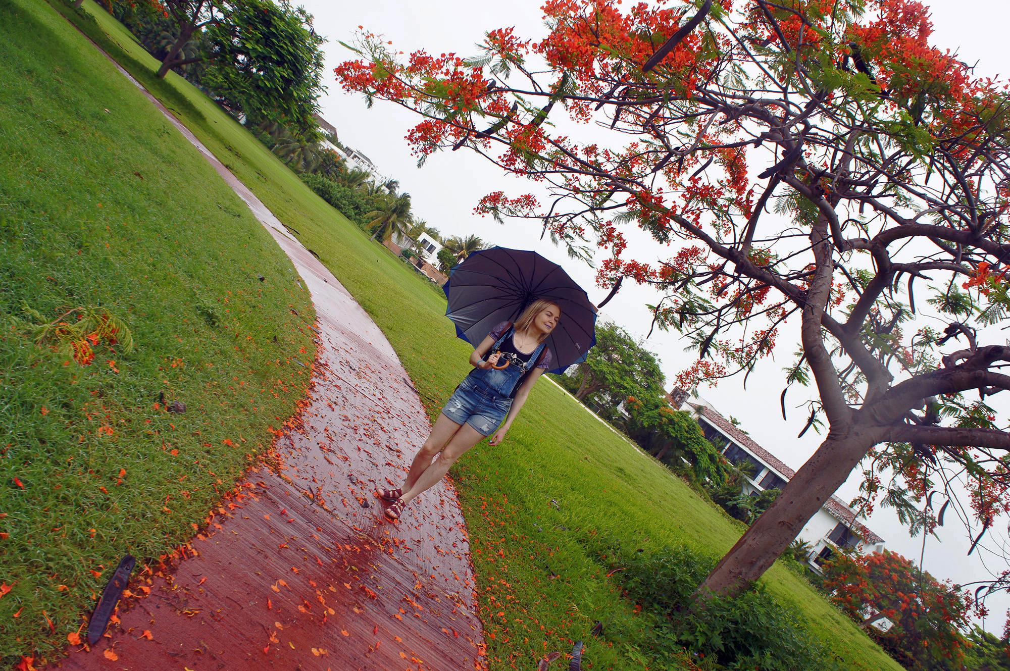 Два дня из десяти шёл дождь. Погода напоминала осень, и казалось, что вот-вот должен пойти снег