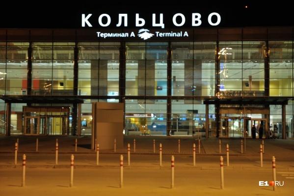 Мужчину оштрафовали, когда он вышел из самолета в Кольцово