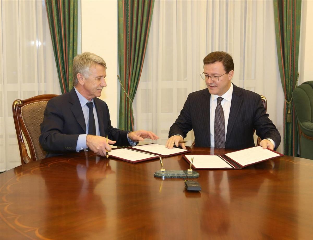 Леонид Михельсон активно сотрудничает с Самарской областью в различных проектах