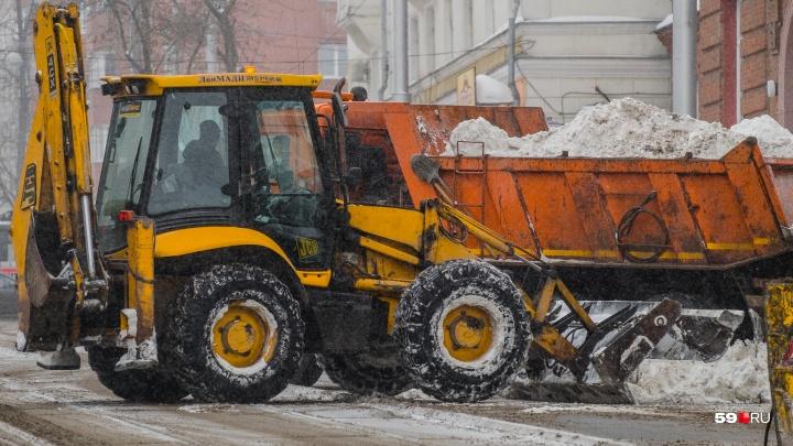 В Перми подрядчики закупили новую противогололёдную смесь