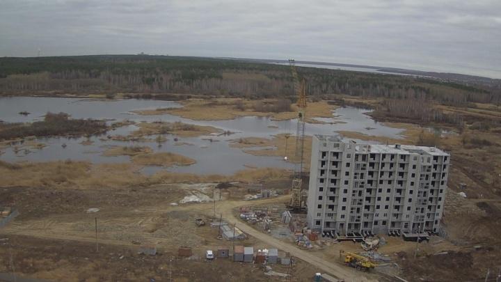 Двор с собственным пляжем: на берегу реки Миасс в Челябинске построят комплекс высоток