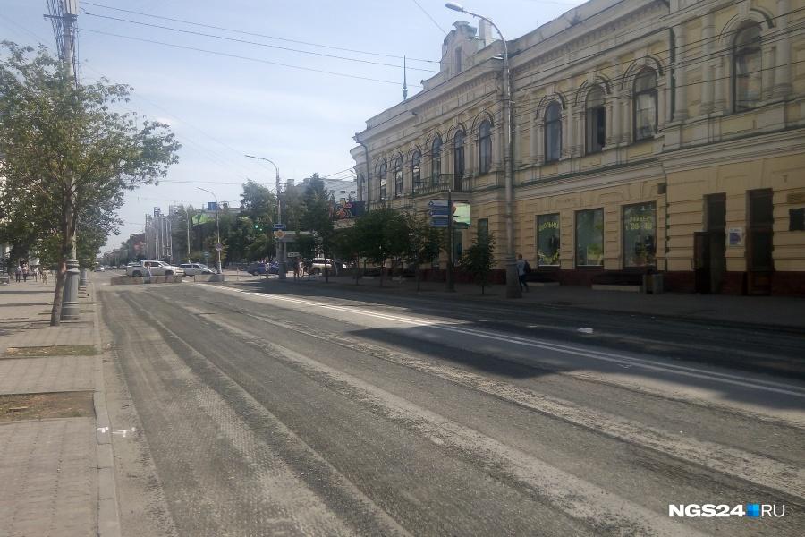 Большой ремонт 2017 года на проспекте Мира продолжается
