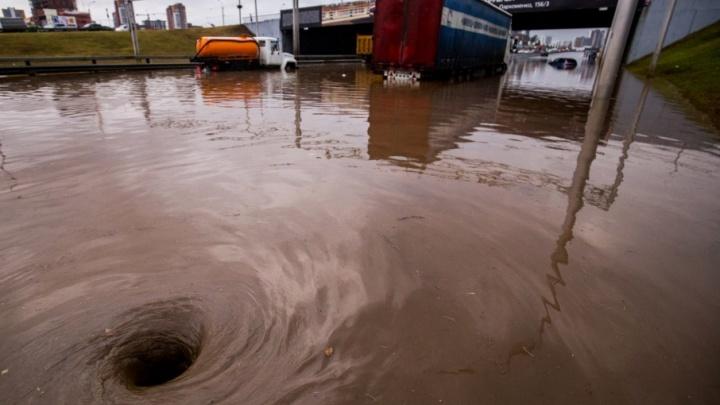 Уфимцы считают, что городские службы провалили борьбу с ливнем