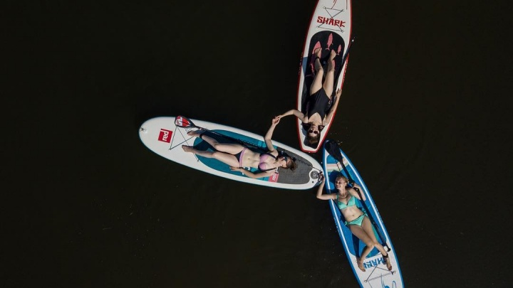Волгоград сверху: красотки, высотки и лодки