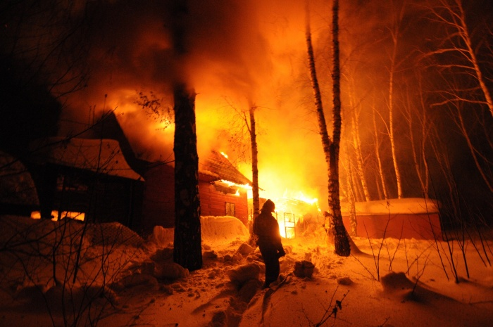Общее количество пожаров составило 1010 случаев