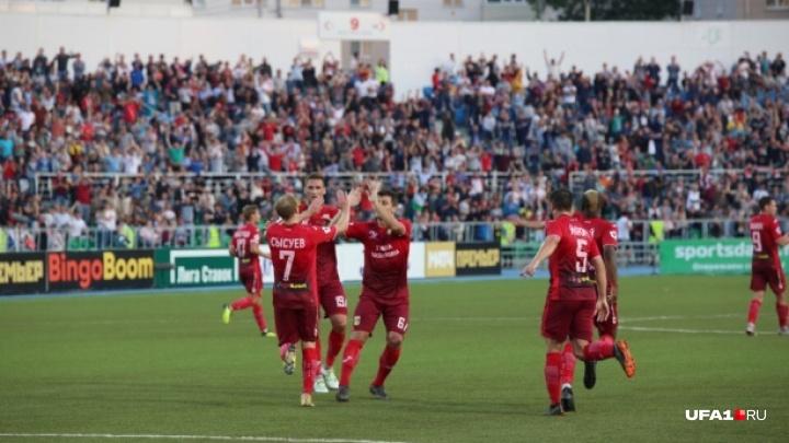 ФК «Уфа» попал в международный рейтинг клубов UEFA