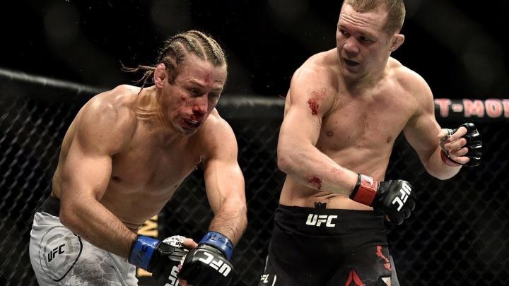 Омский боец Пётр Ян нокаутировал американца на турнире UFC