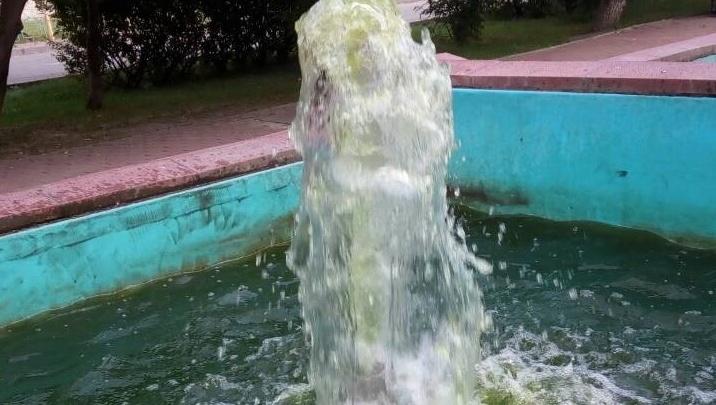 Страшный фонтан в районе Ватутина почистят и отремонтируют