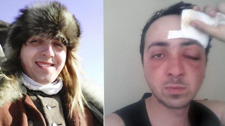 На съёмках фильма по сценарию уральца Алексея Иванова актёру выкололи глаз бутафорской шпагой