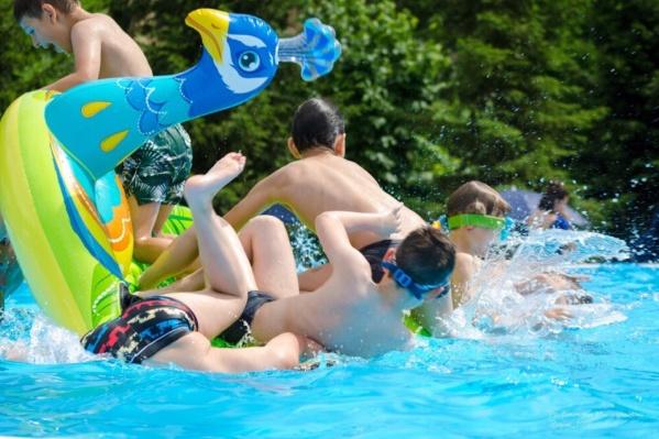Окунуться в жару в воду, что может быть лучше?