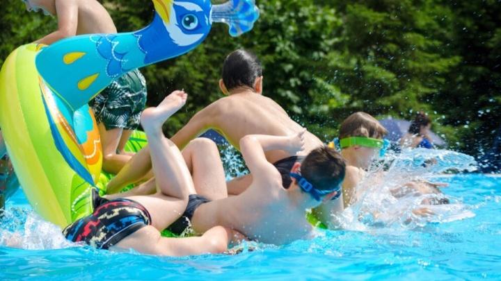 Где охладиться в жару: изучаем открытые бассейны для купания в Красноярске